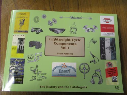 Lightweight Cycle Components Vol 1  at National Cycle Museum Shop Mid Wales