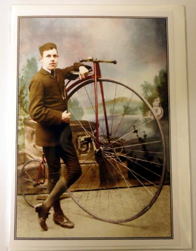 cards 10 at National Cycle Museum Shop Mid Wales